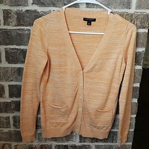 Banana Republic Size S Creamsicle Orange Cardigan